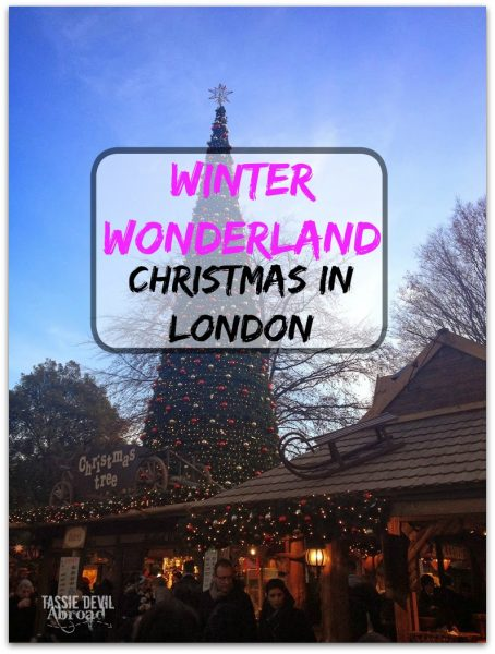 Winter Wonderland Christmas in London
