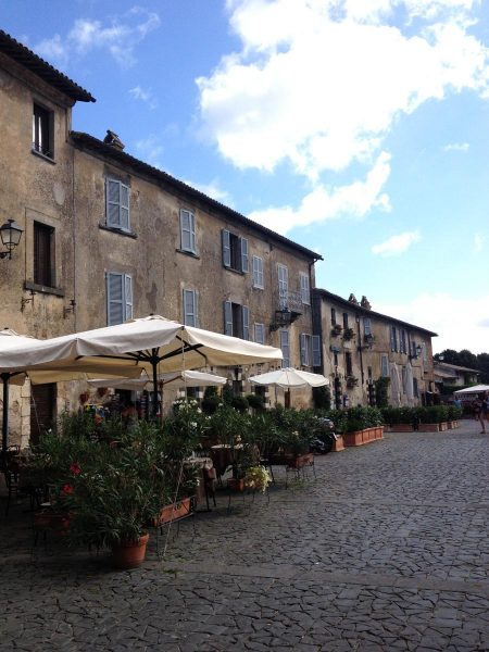 Visiting the Italian town of Orvieto