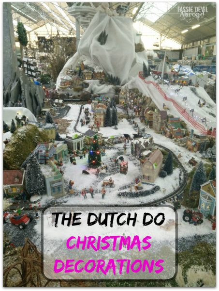 The Dutch Do Christmas Decorations