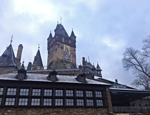 What it's like to go on a tour of the castle in the German town of Cochem!