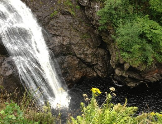 Falls of Foyers, Scotland