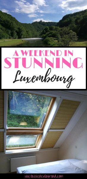 A review of the hotel Cocoon in beautiful Luxembourg.