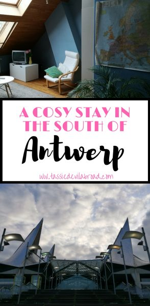 Details on some lovely accommodation and a walk around the Southern part of Antwerp, Belgium