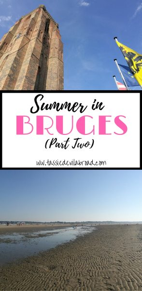 Did you know there's a beach in Bruges? Find out more about visiting Bruges in Summer here!