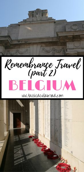 Travel in Belgium to remember those lost in Wartime