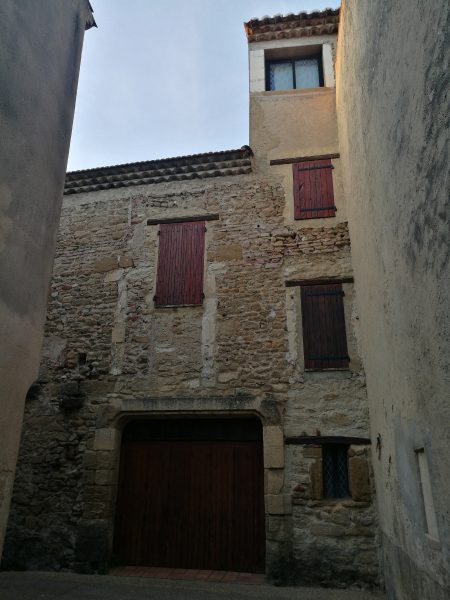 Camaret-sur-Aigues, a town in Provence, France
