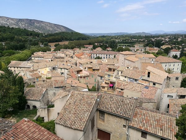 Malaucène, a town in Provence, France