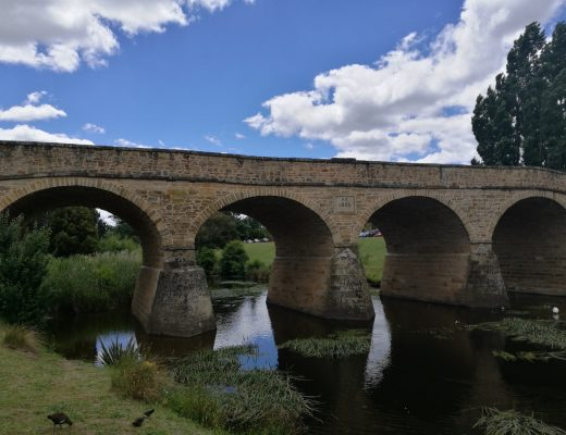 Richmond Bridge in Richmond, Tasmania