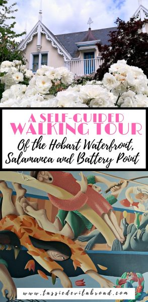 A Self-Guided walking tour of Historical Battery Point, Salamanca and the Hobart waterfront area. #hobart #salamanca #batterypoint