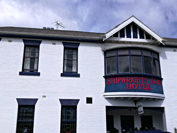The Shipwright's Arms Hotel in Battery Point, Hobart