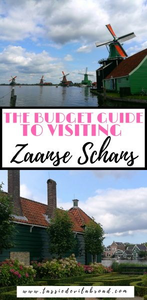 All the information you need to visit Zaanse Schans in the Netherlands on a budget! #dutch #travel #netherlands #zaanseschans