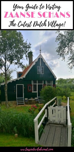 All the information you need to visit Zaanse Schans in the Netherlands on a budget! #zaanseschans #holland #travel