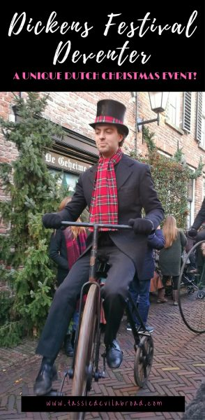 Have you heard about the Christmas Dickens Festival held every year in the Dutch town of Deventer? Find out all about it here!