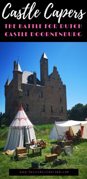 Like castles? Read on to find out about the Dutch Doornenburg Castle and the recreated battle for Doornenburg! A perfect day out for kids and history buffs. #dutchcastle #castles #netherlands