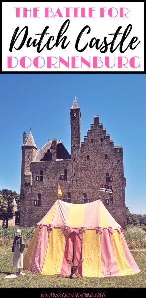 Like castles? Read on to find out about the Dutch Doornenburg Castle and the recreated battle for Doornenburg! A perfect day out for kids and history buffs. #travelinthenetherlands #castles