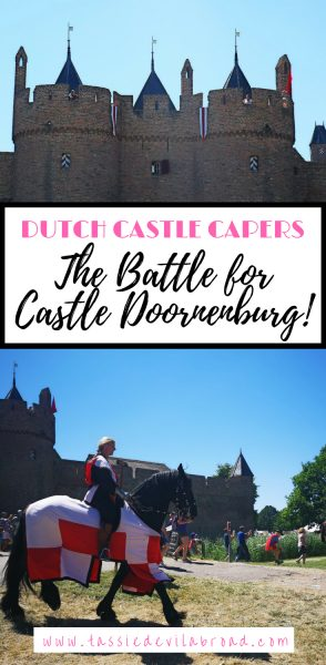 Like castles? Read on to find out about the Dutch Castle of Doornenburg and the recreated battle for Doornenburg! A perfect day out for kids and history buffs. #castle #netherlands #travel