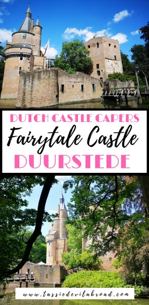Everything you need to know to visit fairytale castle Duurstede in the Netherlands! #dutchcastles #travel #netherlands