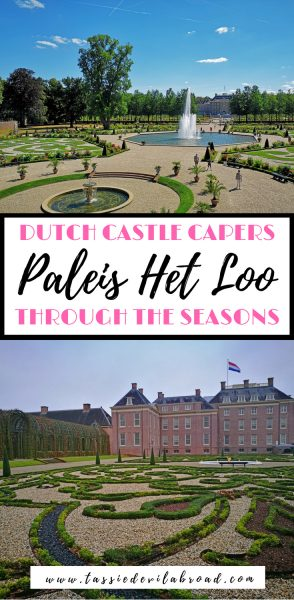 Everything you need to know about visiting the Dutch royal palace of Paleis Het Loo, and how it changes through the seasons! #castle #travel #Netherlands