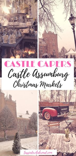 Want to visit a Christmas market in a castle?! You can at Castle Assumburg in the Netherlands! Find out how here. #netherlands #travel #christmas