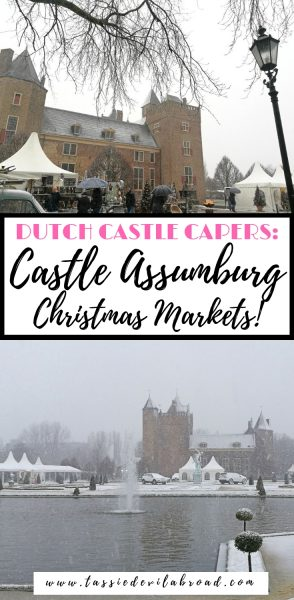 Want to visit a Christmas market in a castle?! You can at Castle Assumburg in the Netherlands! Find out how here. #holland #travel #christmas