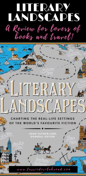 Literary Landscapes, a book review for lovers of books and travel! #bookreview #books #travel