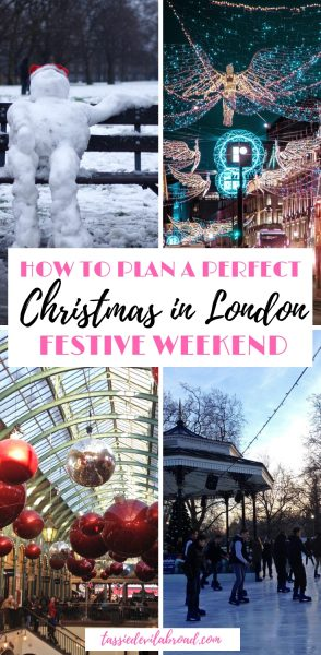 How to have the perfect Christmas weekend in London. #christmas #london #festive #travel