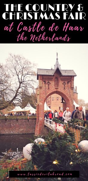 All the details and inspiring photos of the Country and Christmas Fair, an annual festive tradition at Castle de Haar in the Netherlands. #theNetherlands #travel #Christmas