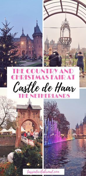 All the details and inspiring photos of the Country and Christmas Fair, an annual festive tradition at Castle de Haar in the Netherlands. #christmasmarkets #castle #thenetherlands