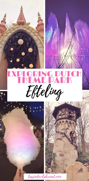 Find out why you should visit Efteling, the magical Dutch theme park! #fairytaletravel #themeparks #Europe