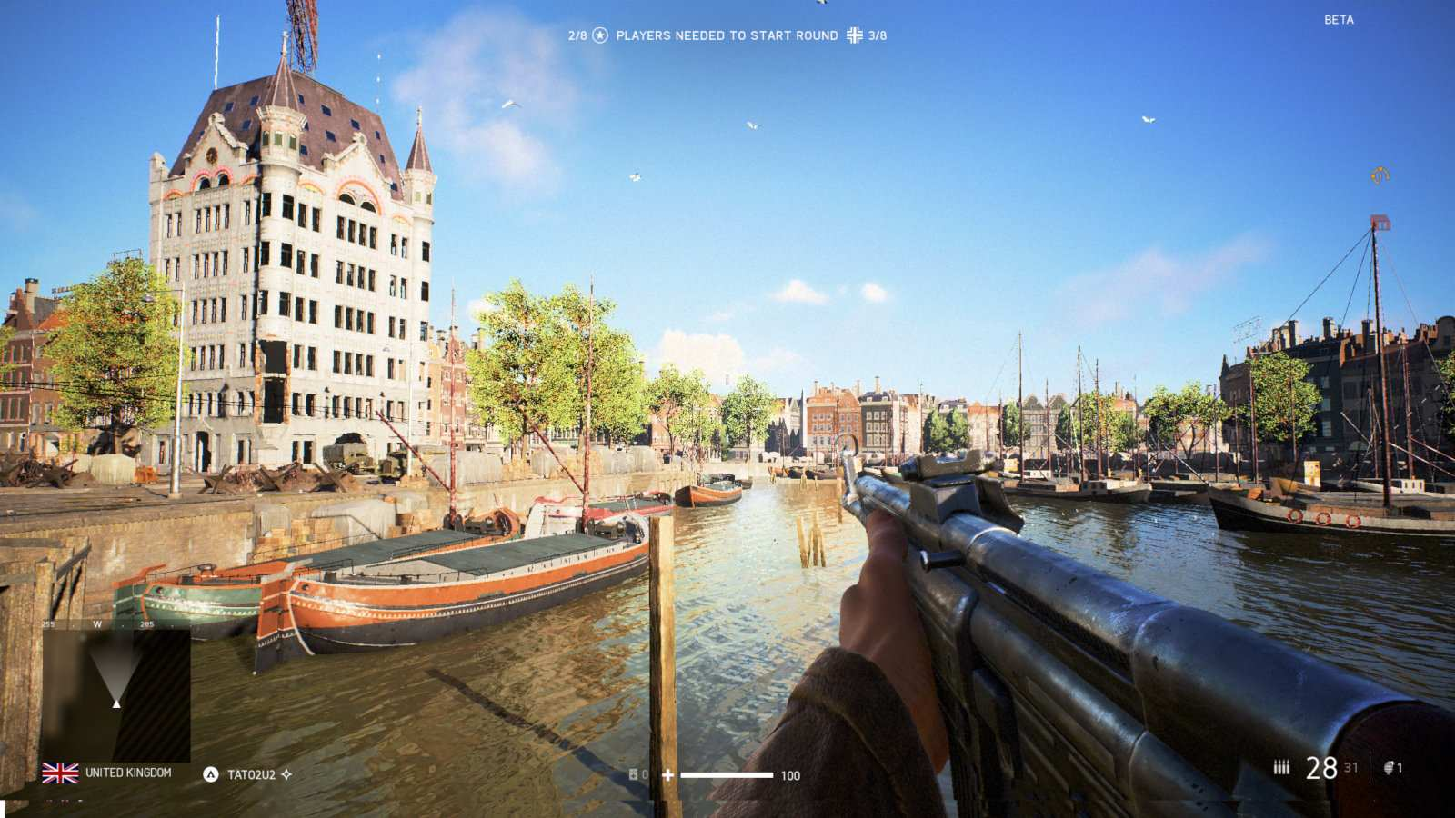 The best video games to inspire travel - explore Rotterdam in the Netherlands while playing Battlefield 5.