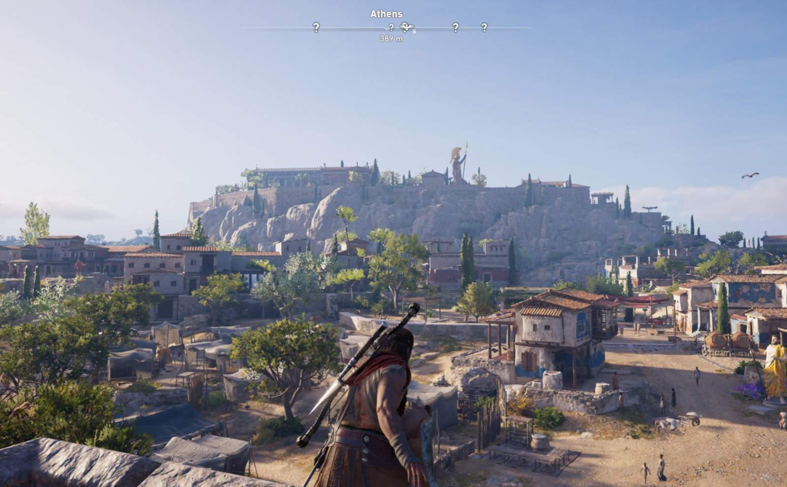 The best video games to inspire travel - marvel at the Acropolis in Athens when it was still complete while playing Assassin's Creed Odyssey.