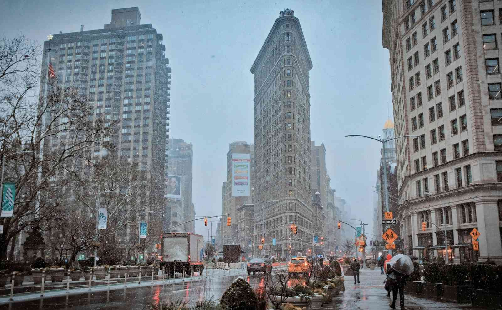 The Flatiron Building in New York City, a location you can see in the video games Tom Clancy's The Division.