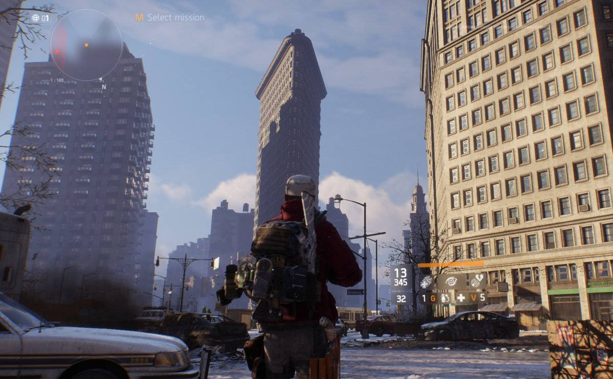 The best video games to inspire travel - Tom Clancy's The Division is based on New York City.