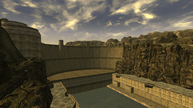 The best video games to inspire travel - getting up close and personal with the Hoover Dam in Fallout New Vegas.