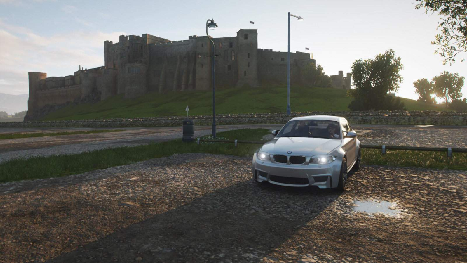 The best video games to inspire travel - you can actually make Bamburgh Castle your home in Forza Horizon 4!