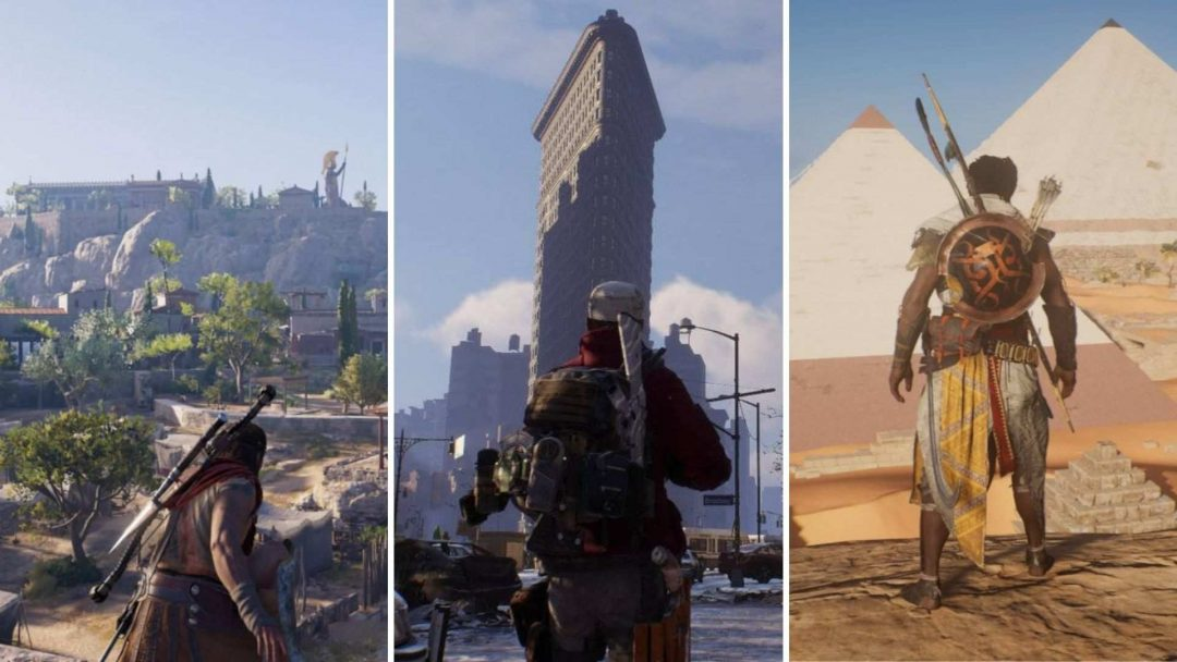 All the best video games inspired by real places that will make you want to pack a suitcase asap!