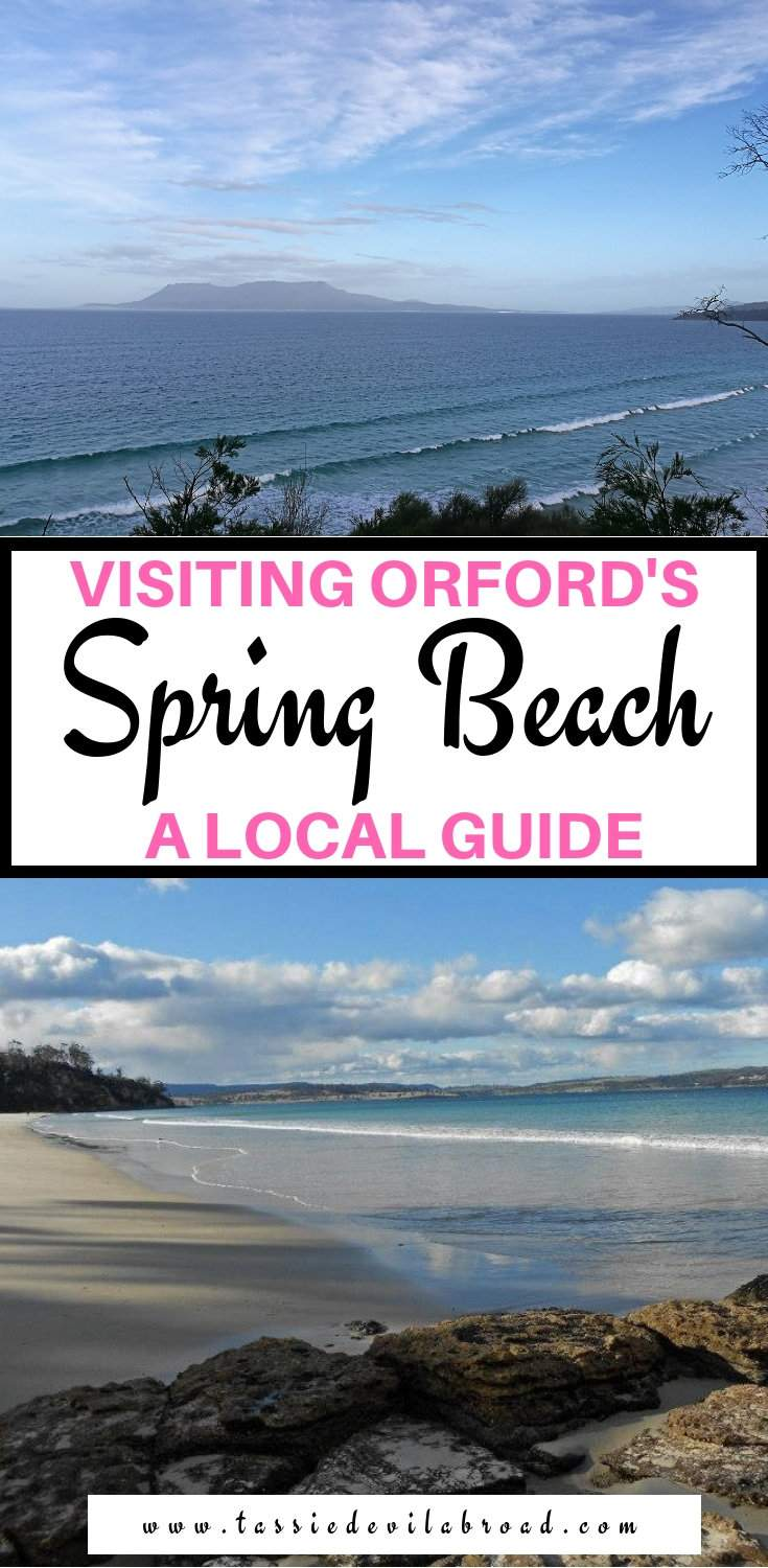 Everything you need to know about visiting Spring Beach, a hidden gem in Orford, Tasmania #springbeach #tasmania #beaches #travel