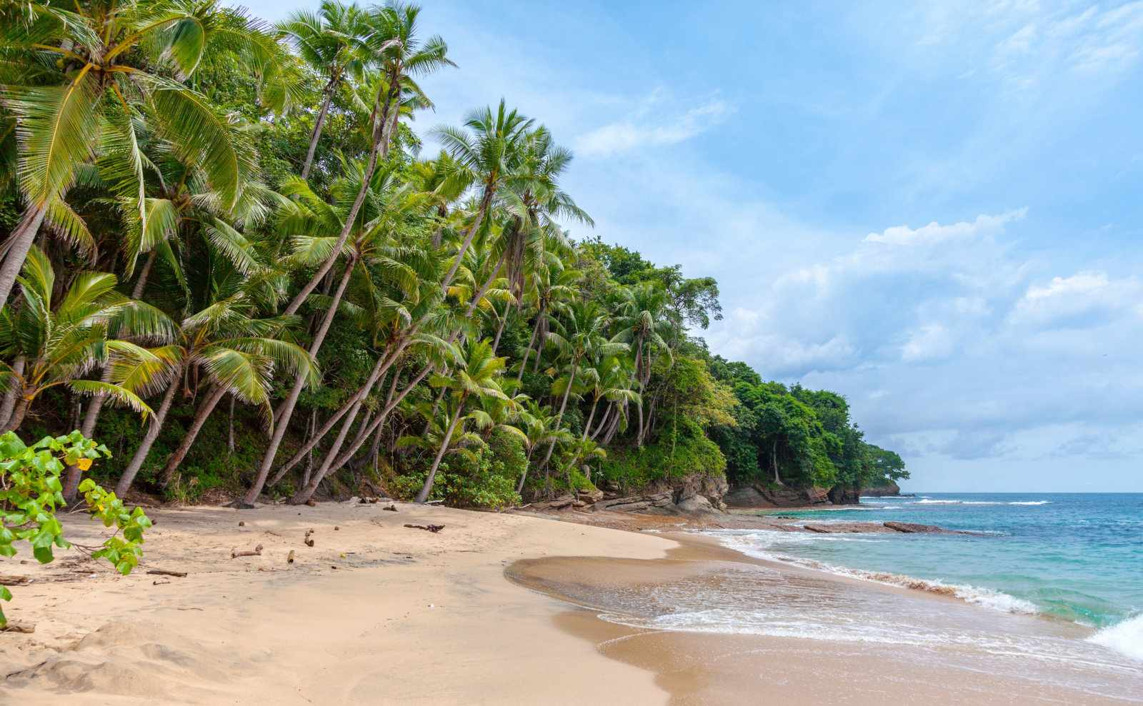 A real-life version of the tropical landscape you can explore in the game The Secret of Monkey Island.