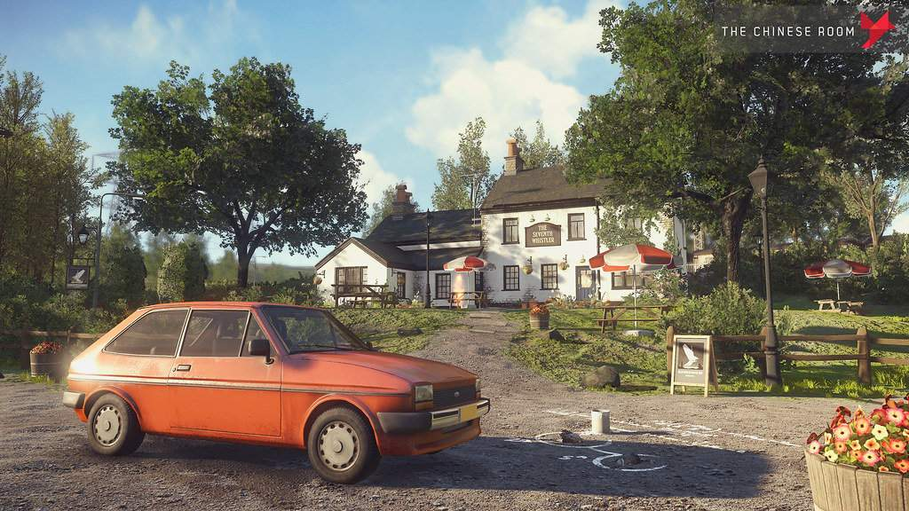 The best video games to inspire travel - wander around a beautiful village in Shropshire, England while playing Everybody's Gone to the Rapture.