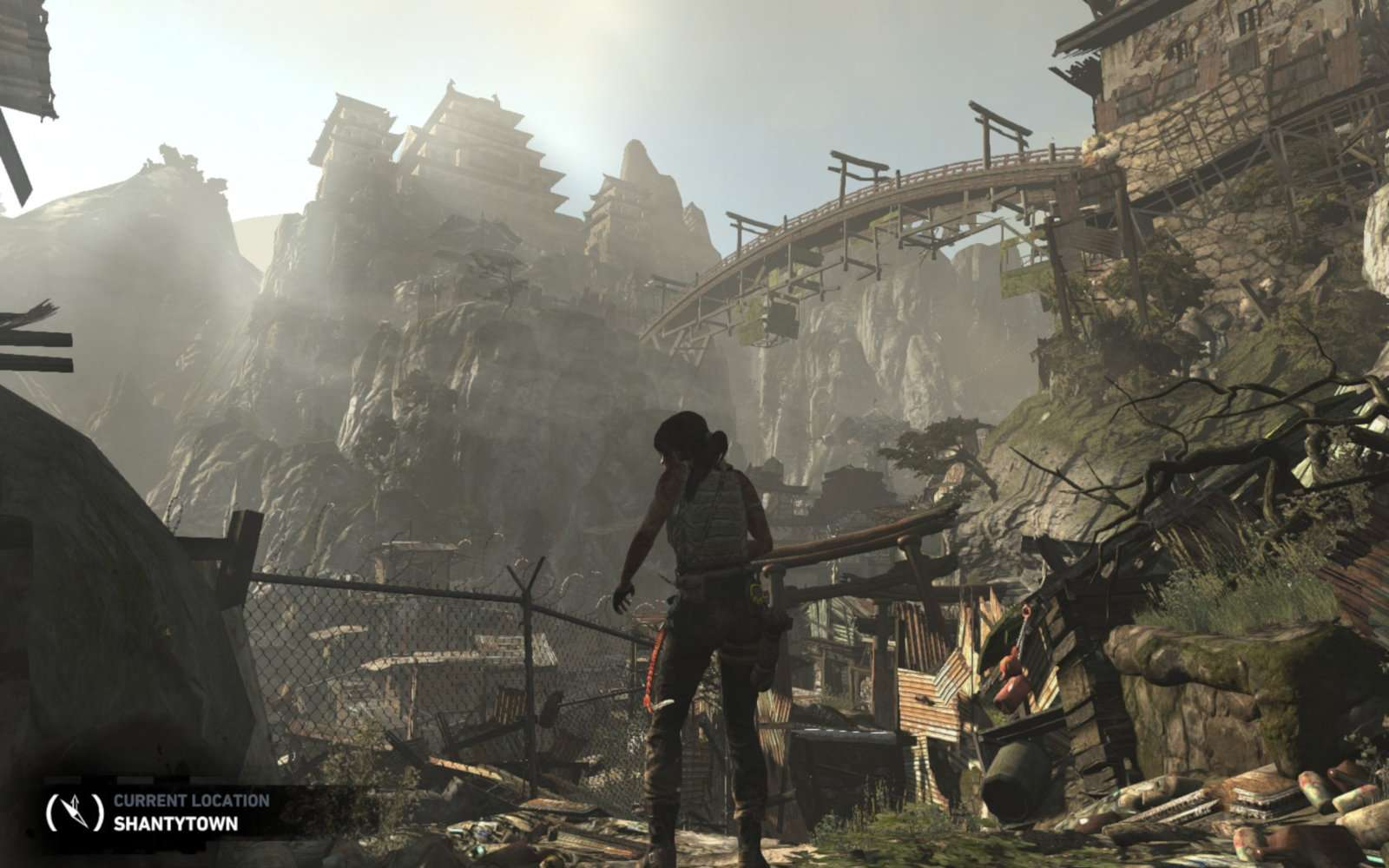 The best video games to inspire travel - Tomb Raider is based on Japan.