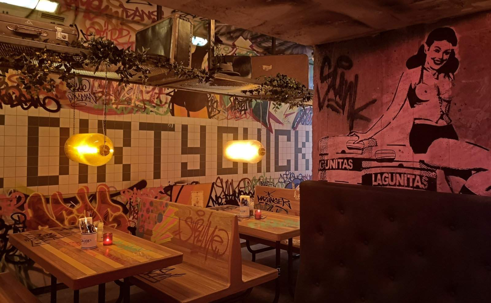 The Dirty Chicken Club is one of the coolest places to eat in Amsterdam