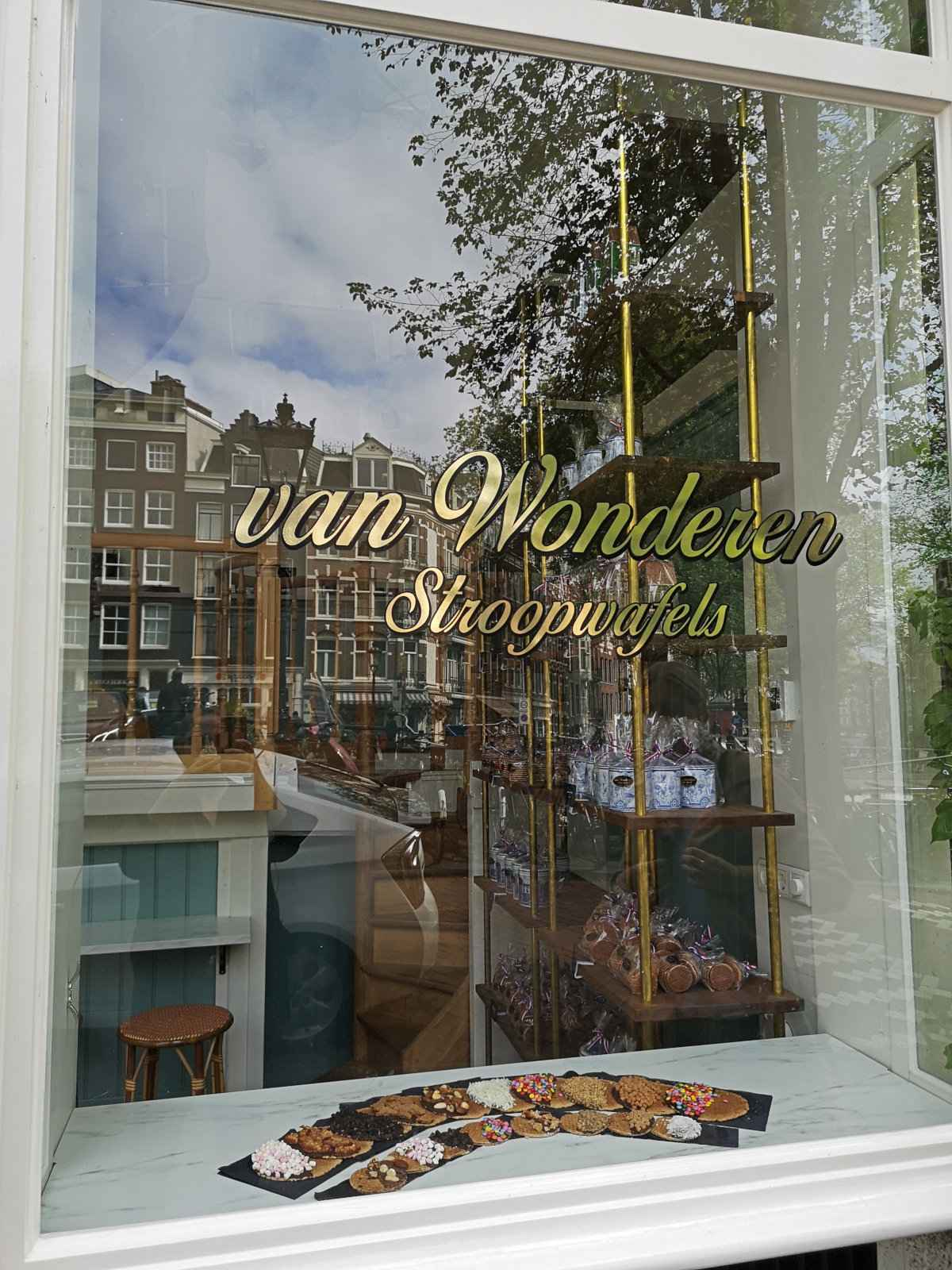van Wonderen Stroopwafels is one of the coolest places to eat in Amsterdam