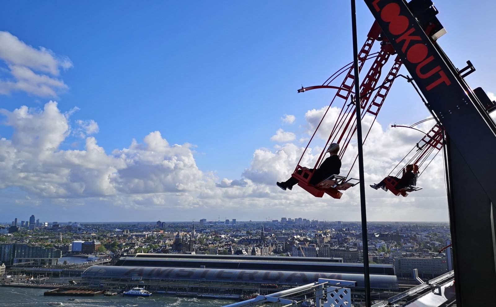 How to Experience A'DAM Toren AKA Amsterdam Tower