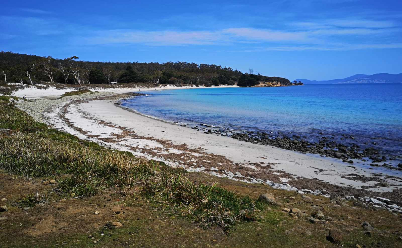 Visiting Maria Island National Park in Tasmania